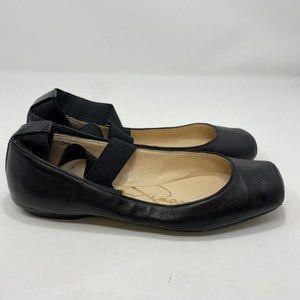 Jessica Simpson Women's Black Flats Size 7 (A127)